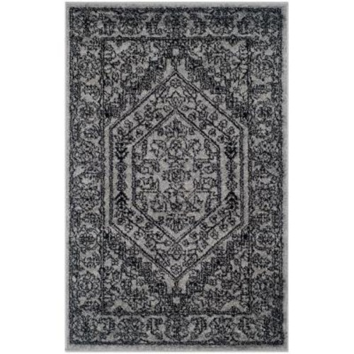 Safavieh Adirondack Silver/Black 2 ft. 6 in. x 4 ft. Area Rug