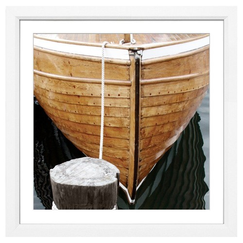 William Stafford Wooden Boat Bow