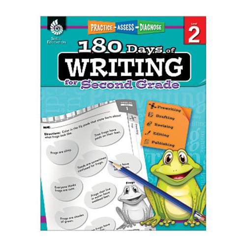 Shell Education 180 Days Of Writing Workbook, Grade 1
