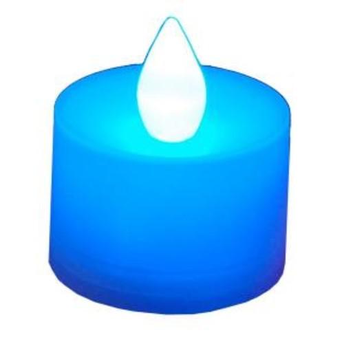 Lumabase Blue LED Tealights (Box of 12)
