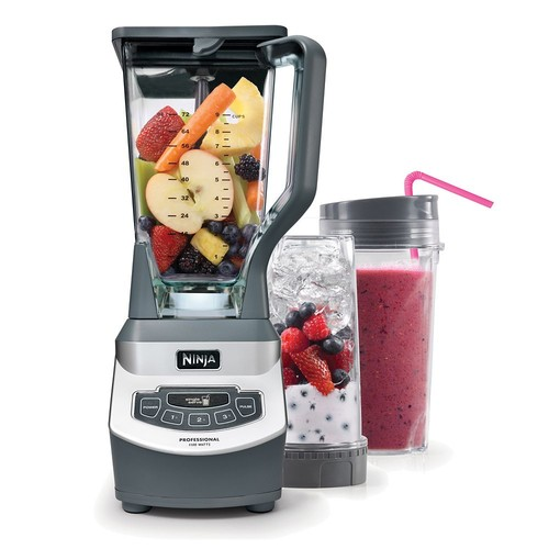 Ninja Professional Blender with Nutri Ninja Cups (BL660)