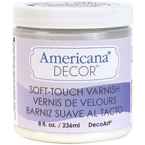 Soft Touch Varnish 8Oz-Clear