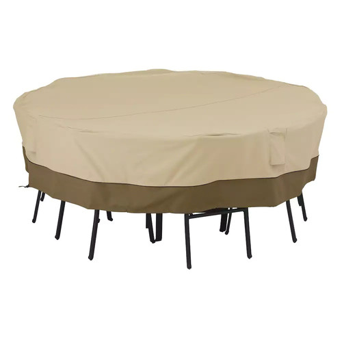 Classic Accessories Veranda Square Large Patio Table and Chair Cover