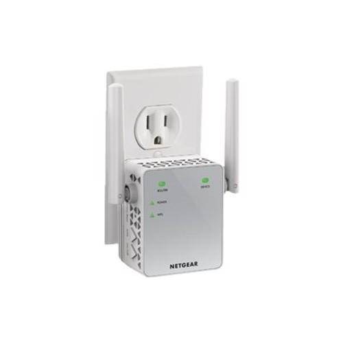 NETGEAR EX3700 Essentials Edition Wi-Fi Range Extender - 802.11a/b/g/n/ac, Dual Band, External, Wireless, 750 mbps, 2.4GHz 5GHz,External Integrated Antenna, WPA-PSK, WPA2-PSK, WEP - (EX3700-100NAS)