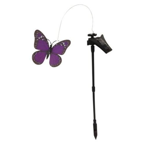 Solar Powered Flickering Monarch Butterfly Garden Stake