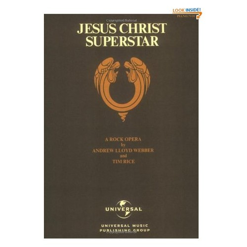 Jesus Christ Superstar Piano Vocal