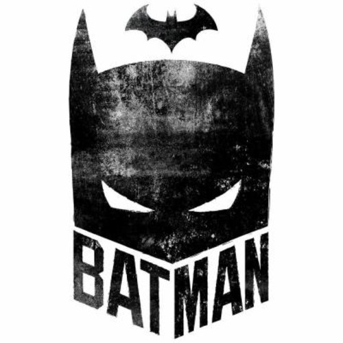 RoomMates 2.5 in. W x 21 in. H Batman Mask 2-Piece Peel and Stick Giant Wall Graphic
