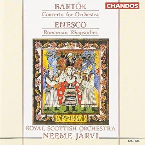 Bartok: Concerto for Orchestra / Enesco: Romanian Rhapsodies