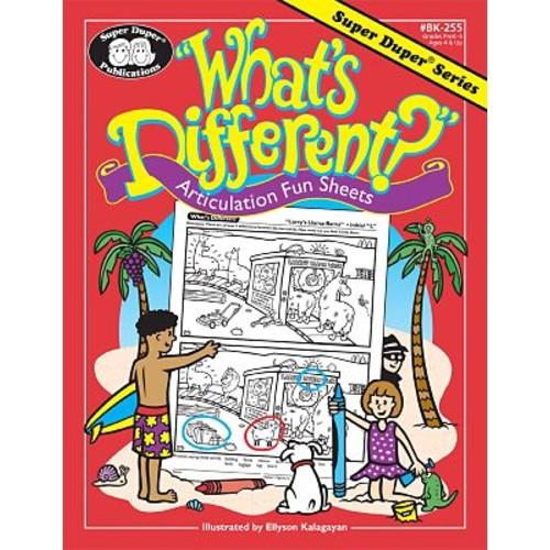 Super Duper What's Different? Book, Grades PreK-5