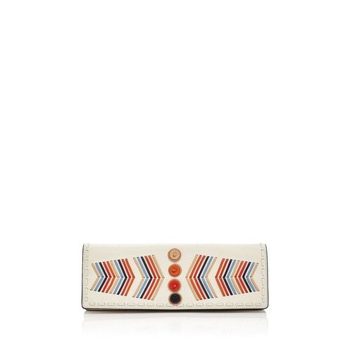 TORY BURCH Canyon Leather Clutch