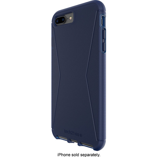 Tech21 - Evo Tactical Case for Apple iPhone 7 Plus - Blue