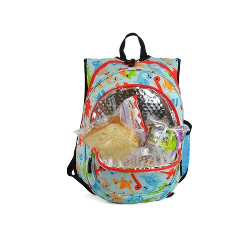 Obersee Kids Dinos Pre-School All-In-One Backpack With Cooler
