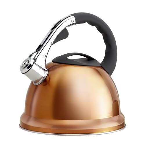 Epicurious 2.85-qt Stainless Steel Whistling Teakettle