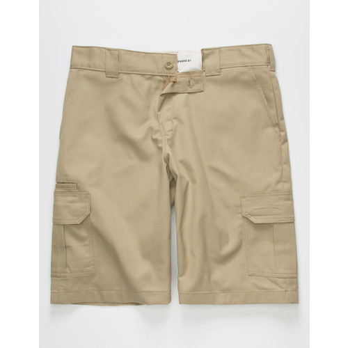DICKIES Flex Relaxed Fit Desert Sand Mens Cargo Shorts