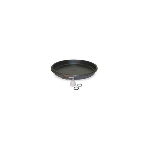3VU58 Water Heater Drip Pan,24 In Dia,Plastic