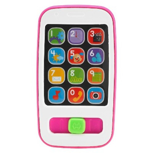 Fisher-Price Laugh and Learn Smart Phone - Pink