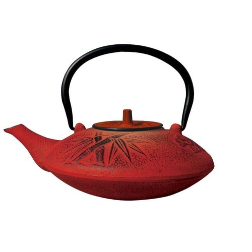 Dutch Sakura 3-Cup Teapot in Red