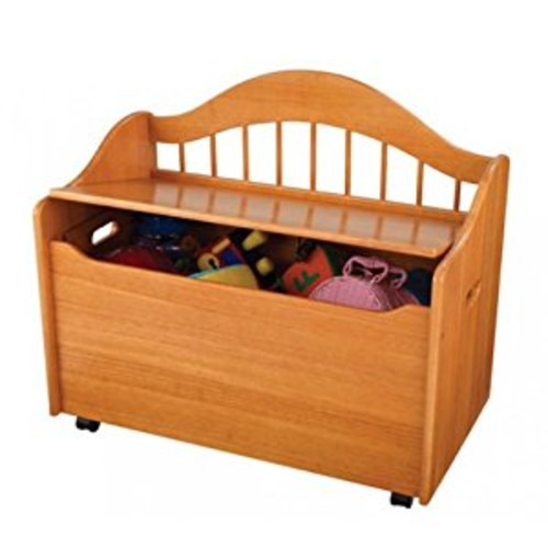 KidKraft Limited Edition Toy Box, Honey [Honey, Frustration-Free Packaging, Toy Box]