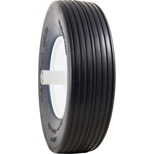 Marathon Tires Flat-Free Wheelbarrow Tire  5/8in. Bore, 4.80/4.008in.