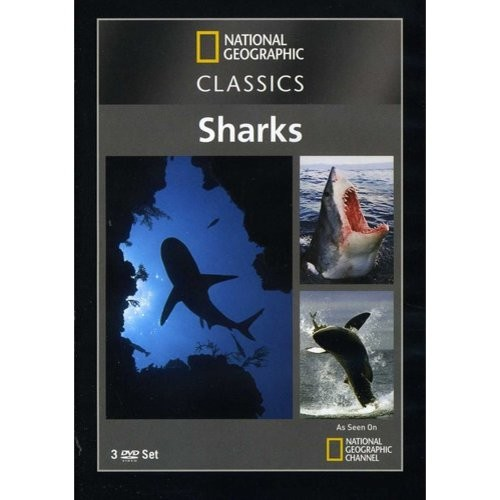 National Geographic Classics: Sharks [3 Discs] [DVD]