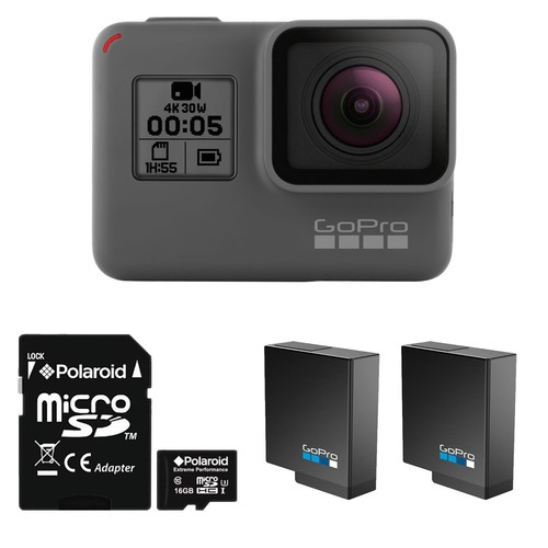GoPro HERO5 Black Action Camera with Battery and Memory Card