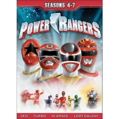 Power rangers:Seasons 4-7 (DVD)