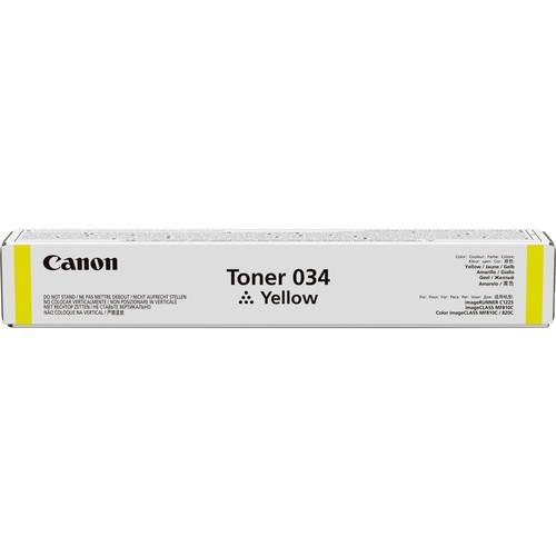 034 Yellow Toner Cartridge