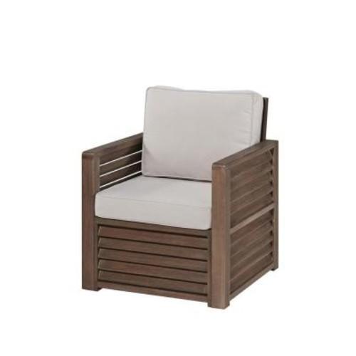 Home Styles Barnside Aged Shorea Wood Arm Chair