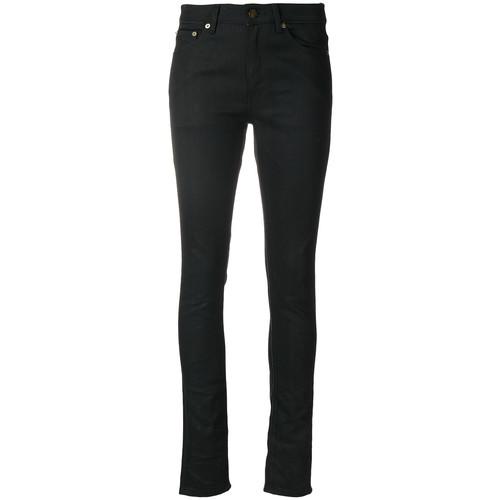 SAINT LAURENT Slim Fit Cropped Jeans