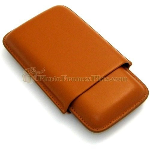 Cigar Case Color: Tan
