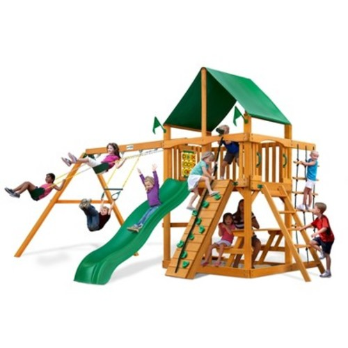 Gorilla Playsets Chateau Swing Set