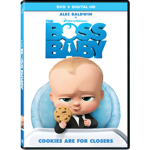 The Boss Baby (DVD / Digital HD)