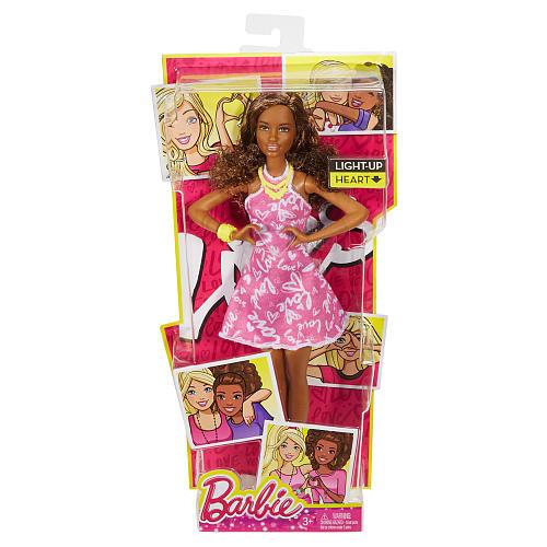 Barbie Light-Up Heart Hands Doll - Nikki