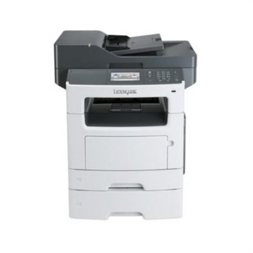 Lexmark MX511DTE Laser Multifunction Printer - Monochrome - Plain Paper Print - Desktop - Copier/Fax/Printer/Scanner - 45 ppm Mono Print - 1200 x 1200 dpi Print - 45 cpm Mono Copy - 4.3