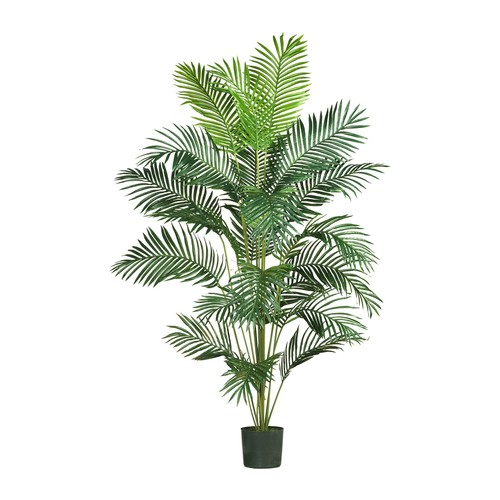 7' Paradise Palm Silk Tree by Nearly Natural