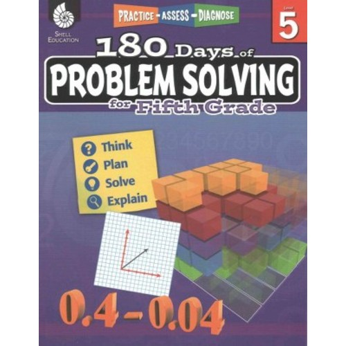 180 Days of Problem Solving for Fifth Grade (180 Days of Practice)