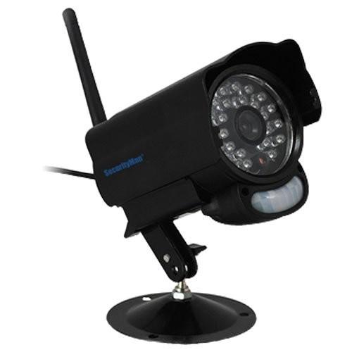 SecurityMan SM-60DT Add-On Wireless Cameras: Dimensions: W
