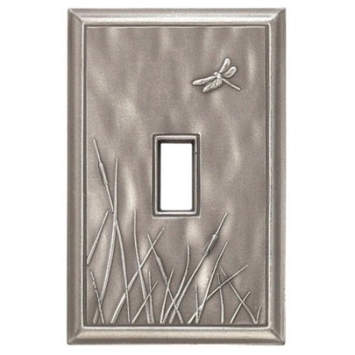 Deco Dragon Fly Magnetic Single Toggle Wall Plate
