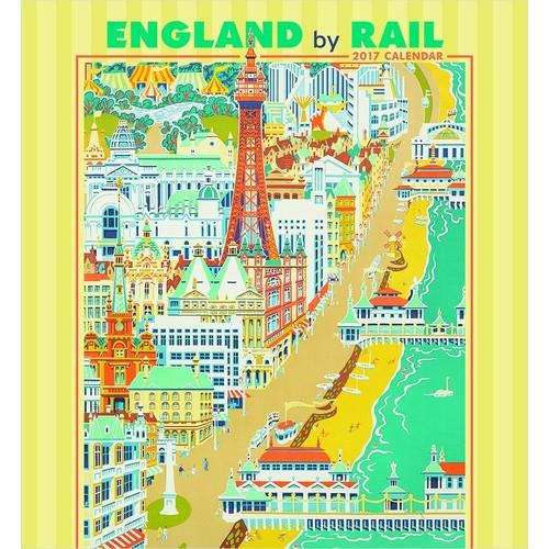 2017 England by Rail Wall Calendar