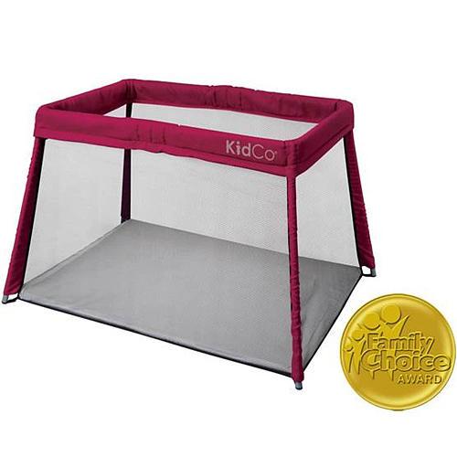 Kidco Travel Pod Portable Playard - Cranberry