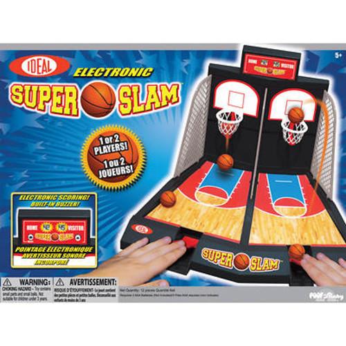 Ideal Electronic Super Slam Basketball Game