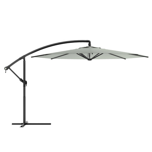 CorLiving 10ft Offset Patio Umbrella Multiple colors