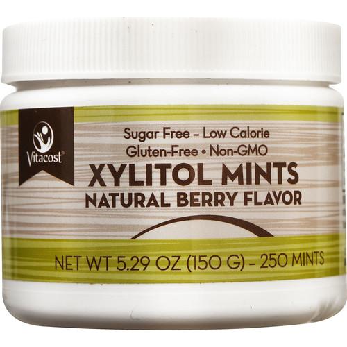 Vitacost Xylitol Mints Berry -- 250 Mints