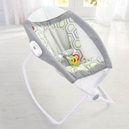 Fisher-Price Newborn Auto Rock N Play Sleeper, Geo Meadow (CMP97)