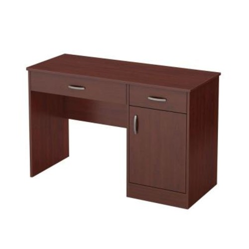 South Shore Axess Royal Cherry Workstations with Storage