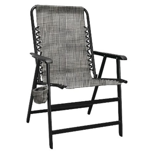Caravan Global XL Suspension Folding Chair - Gray