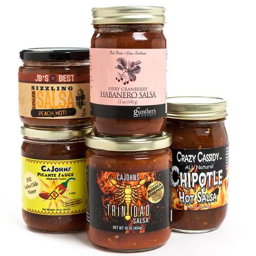 igourmet Gourmet Food Baskets igourmet Hot Salsa Challenge