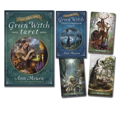 The Green Witch Tarot (Mixed media product)