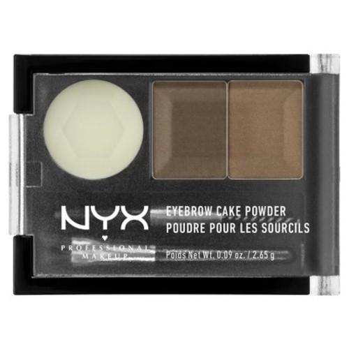 NYX Eyebrow Cake Powder, Blonde, 0.09 oz [Blonde]