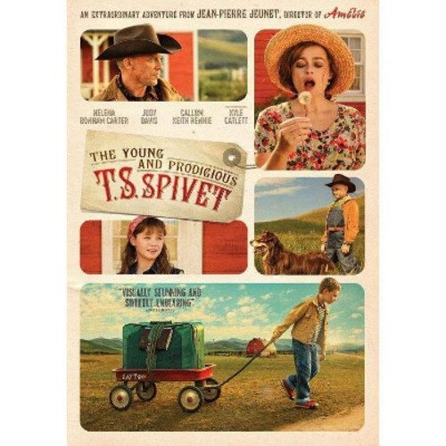 The Young and Prodigious T.S. Spivet [DVD] [2013]